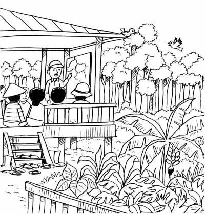 Gambar Kartun Kegiatan Di Rumah Kenali Tipe Belajar Anda Moon And